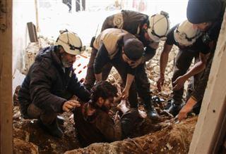 Syrie- les Casques blancs, les secouristes en zones rebelles
