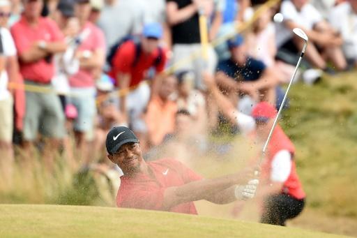 British Open: Tiger Woods attend un appel de Serena Williams pour