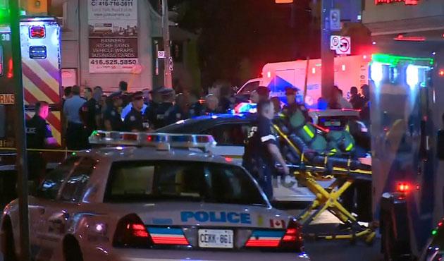 Canada: une fusillade à Toronto fait 2 morts, dont le tireur, et plusieurs blessés graves