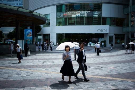 Chaleurs record au Japon: les autorités multiplient les mises en garde