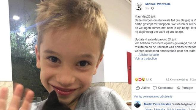 Le petit Vic, 6 ans, est décédé après un accident de piscine au Portugal: