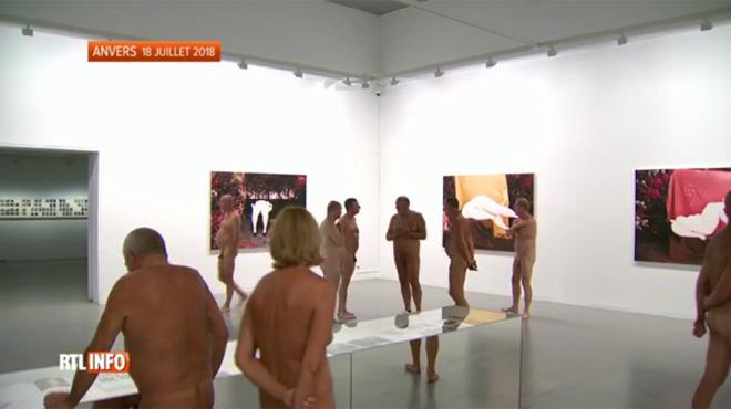 Un musée d'Anvers ouvre ses portes uniquement aux... nudistes!