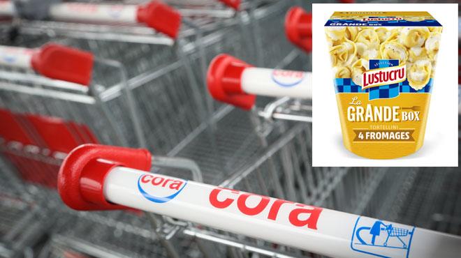 Cora rappelle des Tortellini pour cause de présence potentielle de filaments de métal