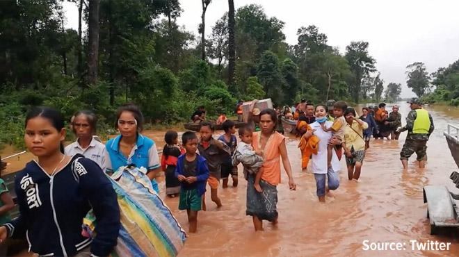 Drame au Laos: un barrage en construction a cédé, des centaines de personnes disparues
