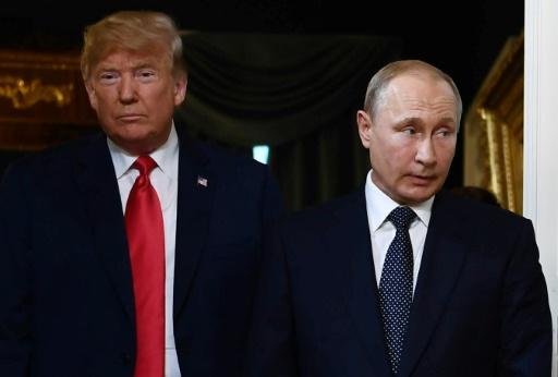 Poutine et Trump vont poursuivre leurs contacts