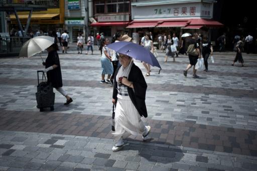 Japon: la chaleur a fait 80 morts et conduit 35.000 personnes à l'hôpital