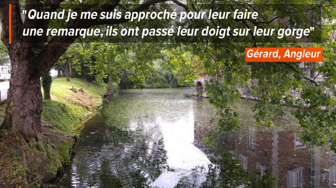 Gérard révolté: des braconniers pêchent les carpes de l'étang, à quelques mètres... du commissariat d'Angleur