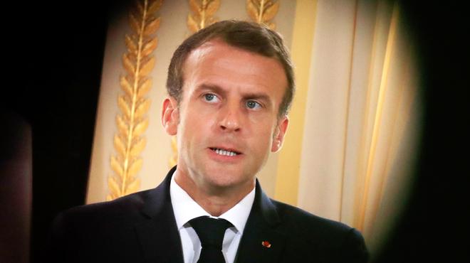 Macron s'exprime devant de nombreux élus sur l'affaire Benalla: