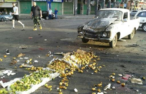 Attentats suicide et assaut de l'EI dans le sud syrien, 40 morts
