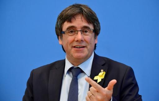 L'ex-président catalan Puigdemont retournera en Belgique