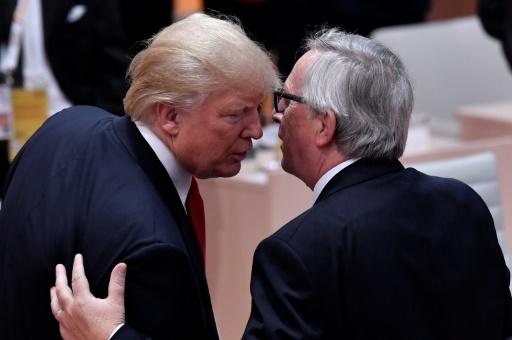 Rencontre Trump-Juncker sous tension à la Maison Blanche