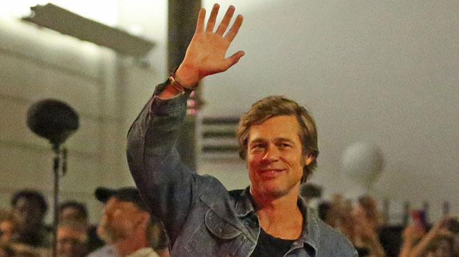Les premières photos de Brad Pitt depuis de longs mois: comment va-t-il?