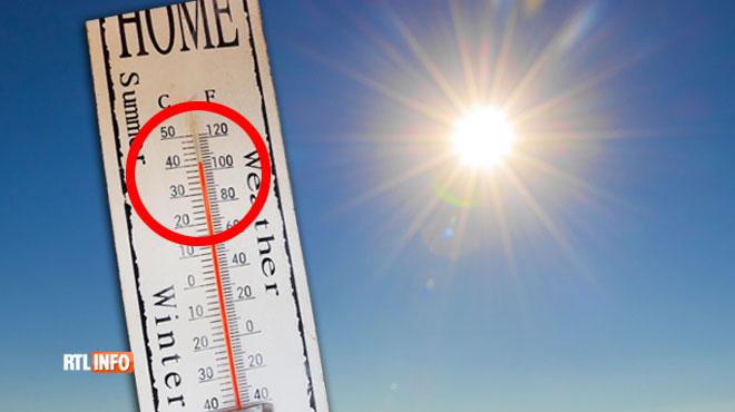 Florence est choquée par son thermomètre à Froidchapelle: