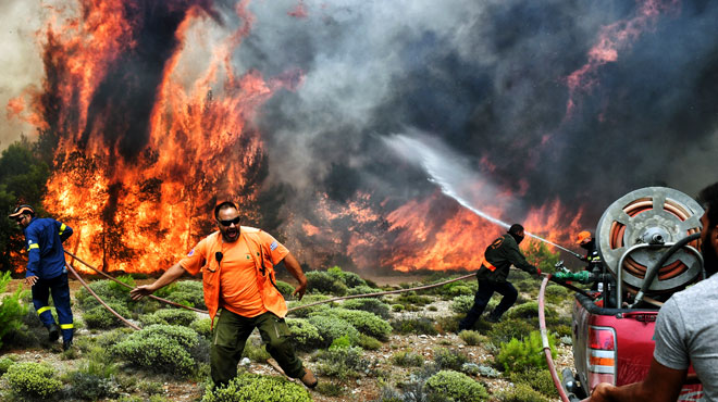 Incendies en Grèce: deux des cinq Belges qui manquaient à l'appel sont