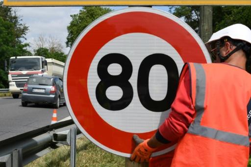 Le Conseil d'Etat refuse de suspendre le décret réduisant la vitesse à 80 km/h