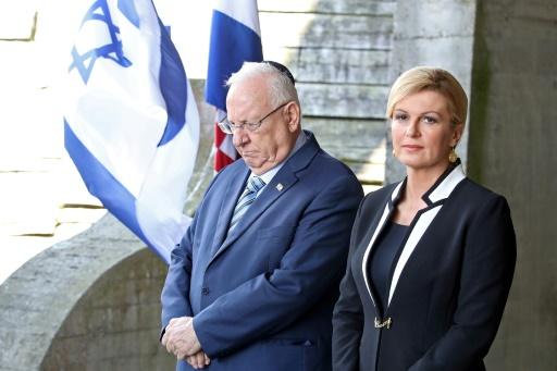 Le président israélien invite la Croatie à