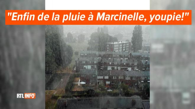 Des orages de chaleur s'abattent sur la Wallonie: le numéro 1722 activé