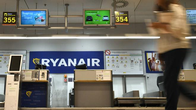 Deuxième jour de grève de Ryanair en Europe, et en Belgique: un seul vol assuré à Bruxelles...