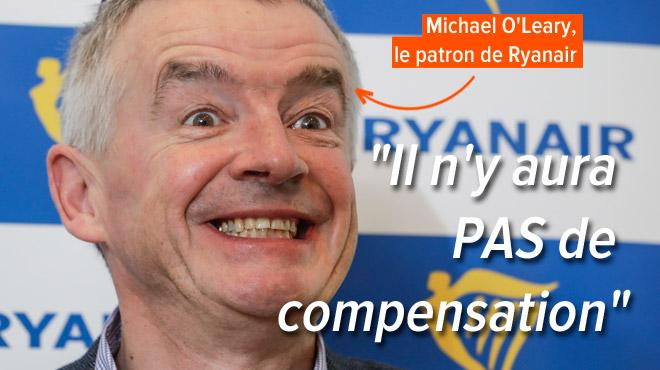 Ryanair REFUSE de verser l'indemnité européenne aux passagers: la compagnie invoque des grèves