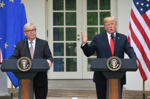 Rencontre Trump-Juncker: