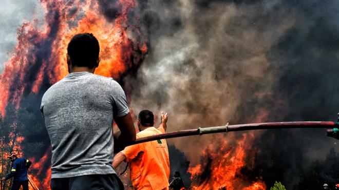 Incendies en Grèce: le gouvernement dispose d'un