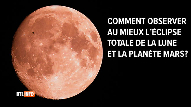 Levez les yeux au ciel ce vendredi soir: la Lune vous réserve un beau spectacle