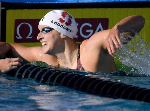 Natation: Katie Ledecky remporte le 200 m libre