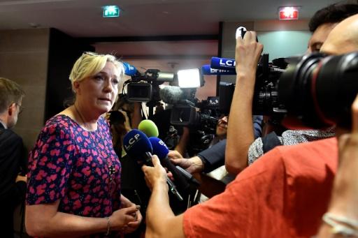 Benalla: pour Marine Le Pen (RN), Macron
