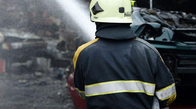 Une maison prend feu à Anderlues: c'est la septième fois en quelques semaines