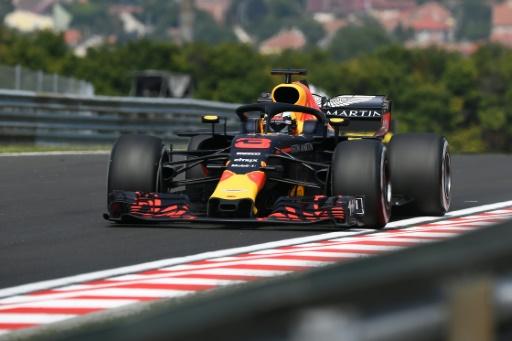 GP de Hongrie: Ricciardo (Red Bull) le plus véloce de la 1re séance d'essais libres