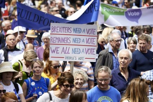 Brexit: une majorité de Britanniques pour un nouveau référendum selon un sondage