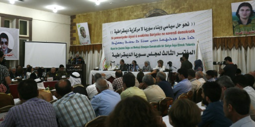 Premières discussions à Damas entre régime et Kurdes soutenus par Washington