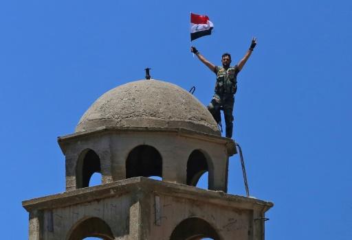 Syrie: cérémonie symbolique pour marquer le retour du régime sur le Golan