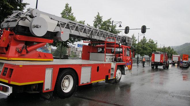 Un important incendie se déclare à Herstal: deux habitants intoxiqués