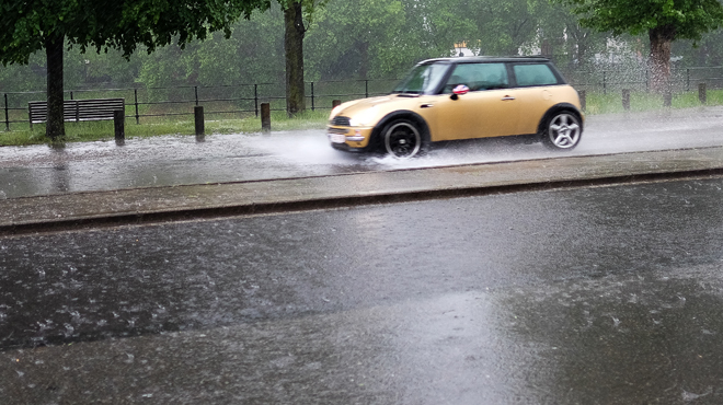Prévisions météo: la pluie rafraîchit tout le pays, mais jusqu'à quand?
