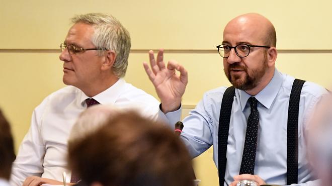Charles Michel reste ferme malgré les critiques sur le budget: