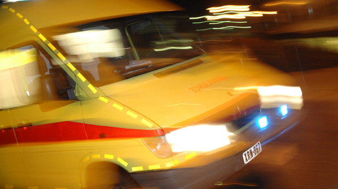 Un piéton happé par un véhicule sur la E411