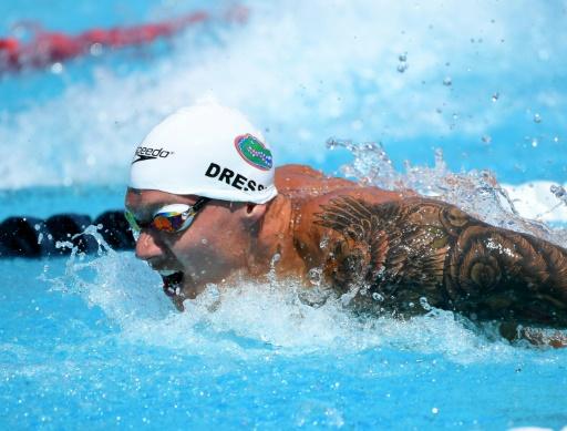 Championnats des Etats-Unis: Dressel se rattrappe sur 100 m papillon