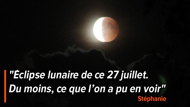 L'éclipse lunaire totale observée par plusieurs chanceux en Belgique: toutes vos photos
