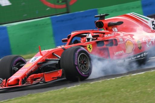GP de Hongrie: Vettel encore le plus rapide lors de la 3e séance des essais libres