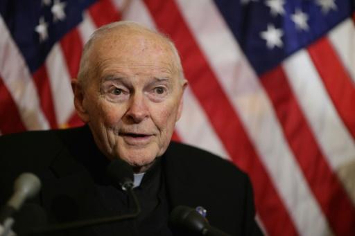 Abus sexuels : le pape accepte la démission du cardinal américain McCarrick