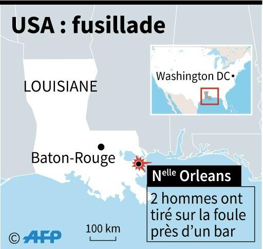 Fusillade à La Nouvelle Orléans: 3 morts et 7 blessés
