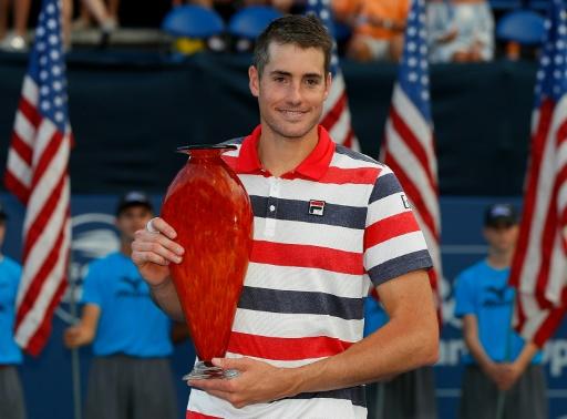 Tennis: Isner décroche son 5e titre à Atlanta