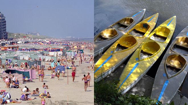 Mois de juillet record à la mer, catastrophique pour les loueurs de kayaks: