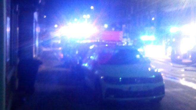 A Liège, une maison a été complètement ravagée par les flammes durant la nuit