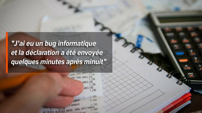 Suite à une déclaration à la TVA payée en retard, les comptes en banque de François ont été bloqués