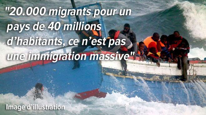 L'Espagne rejette l'idée de migration