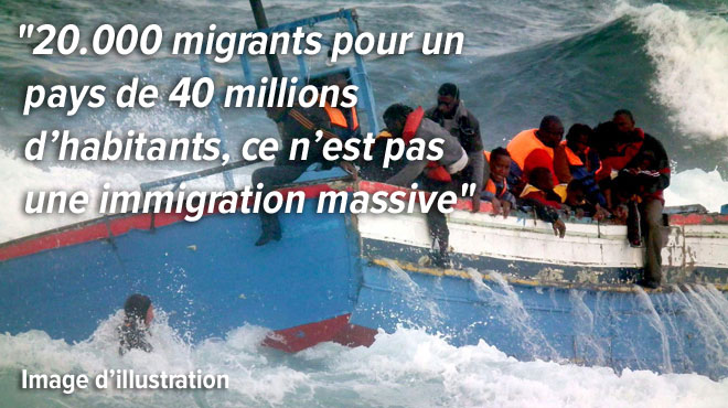 Les migrants sont