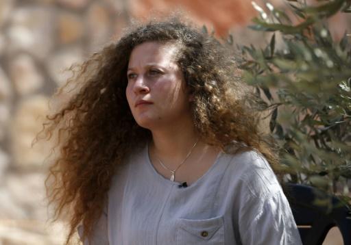 Après 8 mois dans une prison israélienne, Ahed Tamimi