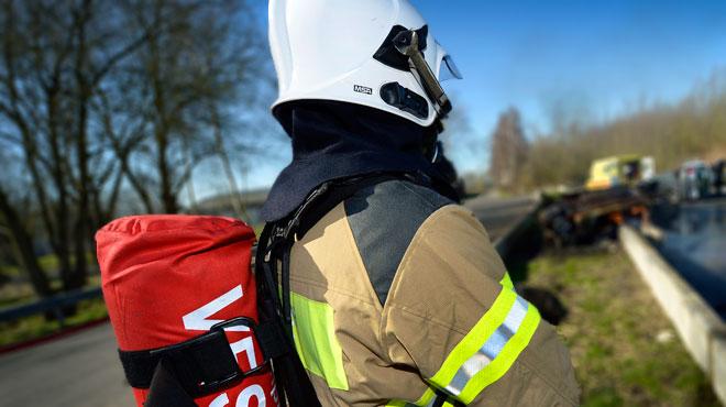 Verviers: un conducteur brûlé par une déflagration survenue dans sa voiture